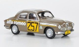 Alfa Romeo 1900 Berlina, No.257, J.A.Solana / L.Leguizamo, Carrera Panamericana , 1954, Model Car, Ready made, M4 143 M4 Toys & Games