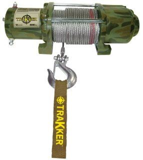 Keeper Corporation KT4000C Trakker 1.6 horsepower Electric Winch   4,000 Pound Capacity (Camouflage) Automotive