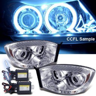8000k Slim Xenon HID Kit+ 06 08 Dodge Ram Ccfl Halo LED Projector Head Lights Automotive