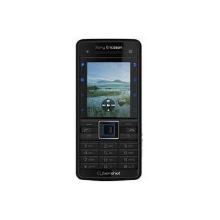 Sony Ericsson C902i Cyber shot Unlocked Cell Phone with 5 MP Camera, Media Player, International 3G, M2 Memory Slot  U.S. Version with No Warranty (Swift Black) Cell Phones & Accessories