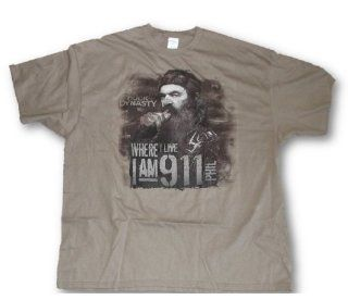 Duck Dynasty Tee, Mens Phil 'I Am 9 1 1 Redneck Tough Guy 911 T Shirt L 3XL (Large)  Sports Fan T Shirts  Sports & Outdoors