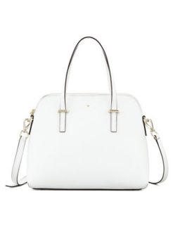 cedar street maise satchel bag, cream   kate spade new york