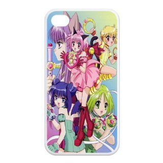 Mystic Zone Tokyo Mew Mew iPhone 4 Case for iPhone 4/4S Cover Japanese Cartoon Fits Case KEK1210 Cell Phones & Accessories