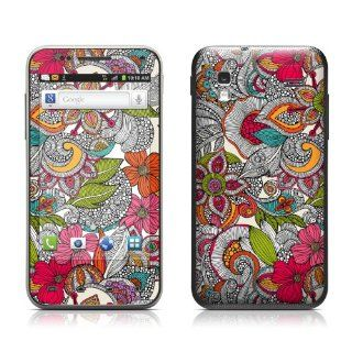 Doodles Color Design Protective Skin Decal Sticker for Samsung Captivate Glide SGH i927 Cell Phone Cell Phones & Accessories