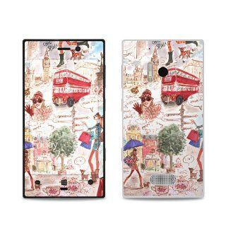 London Design Protective Decal Skin Sticker (Matte Satin Coating) for Nokia Lumia 928 Cell Phone Cell Phones & Accessories