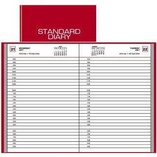 At A Glance SD907 13 Standard Diary Daily Appointment Book, 6 x 9, Red, 2013  Appointment Books And Planners