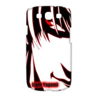 Japanese Anime Series   Death Note Character Light Yagami Samsung Galaxy S3 I9300 Cover Case Cell Phones & Accessories