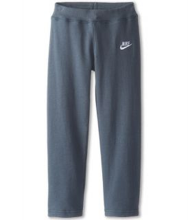 Nike Kids Skinny Fleece Pant (Little Kid) Armory Slate