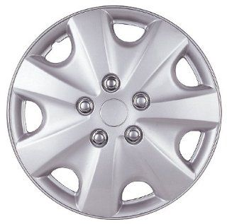 "Drive Accessories KT 957 14S/L, Honda Accord, 14"" Silver Lacquer Replica Wheel Cover, (Set of 4) Automotive"