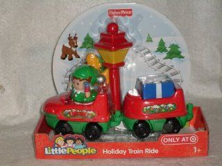 Fisher Price Little People Holiday Train Ride Exclusive Set Toys & Games