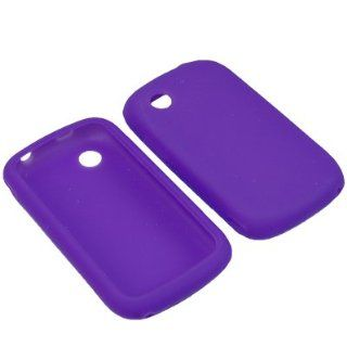 PURPLE Silicone Gel Soft Skin Case Cover For ZTE AVAIL Z990 (AT&T) Cell Phones & Accessories