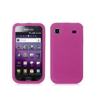 Hot Pink Gel Soft Skin Cover Case For Samsung Galaxy S 4G Vibrant T959 / T959V Cell Phones & Accessories