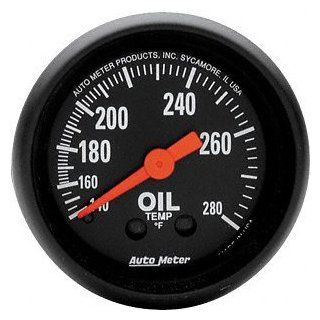Auto Meter 2609 Z Series Mechanical Oil Temperature Gauge Automotive