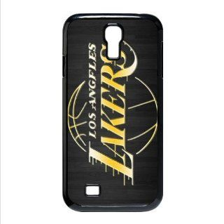 NBA Los Angeles Lakers Logo Cases Accessories for Samsung Galaxy S4 I9500 Cell Phones & Accessories