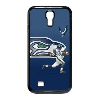 NFL Team Seattle Seahawks Customized Personalized Hard Plastic Case for Samsung Galaxy S4 I9500 Cell Phones & Accessories
