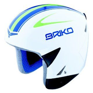 Briko Kimera Comp Ski Helmet (Black/Red/White, 58cm)  Sports & Outdoors
