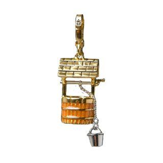 Juicy Couture   Wishing Well   Gold Plated Charm Jewelry