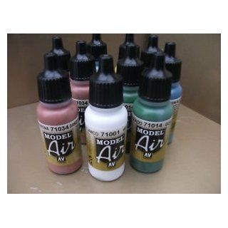 Vallejo Model Air Acrylic Airbrush Colours Choose Any 15 Water Based Hobby Art Toys & Games