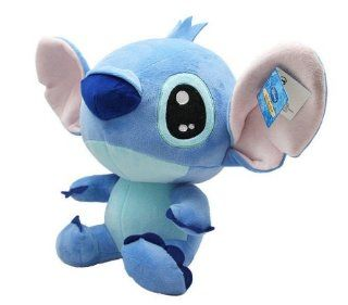 Happy Stitch Plush Disney Cartoon Lilo & Stitch Plush Toys Doll 40 cm Toys & Games