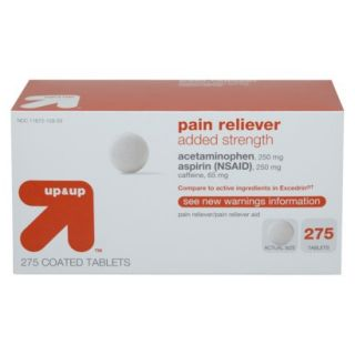Added Strength Pain Reliever Coated Tablet 275 pk.