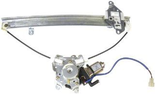 Dorman 741 998 Rear Driver Side Replacement Power Window Regulator with Motor for Mitsubishi Lancer Automotive