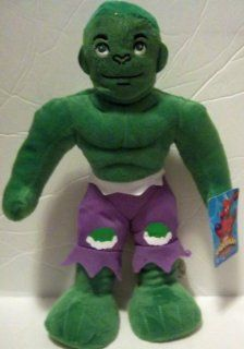 "Incredible Hulk 13"" Plush   Spider man & Friends Toys & Games"