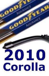2010 Toyota Corolla Replacement Windshield Wiper (2 Blades) Automotive