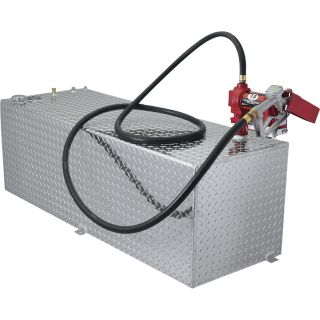RDS Rectangular Auxiliary Transfer Fuel Tank — 91 Gallon, All Diamond, Model# 71791  Auxiliary Transfer Tanks