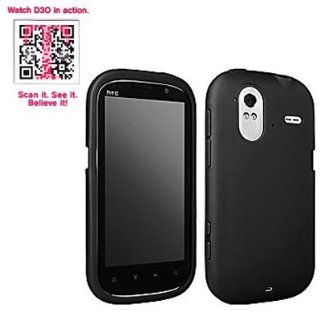 T Mobile OEM Sleeve Gel Cover Skin Case for T Mobile HTC Amaze 4G  Black Cell Phones & Accessories