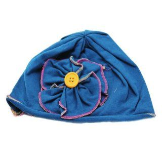 Lovely Ovely Unusal Cotton Girls Baby TODDLER Dark Teal FLOWER SUN HAT Toys & Games