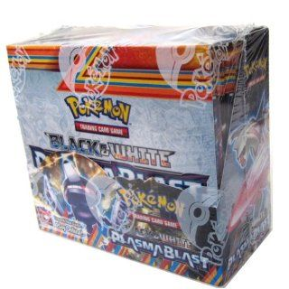 Pok�mon Trading Card Game Black & White �Plasma Blast Booster Display (36 Packs) Toys & Games