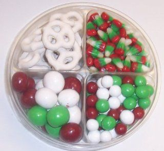 Scott's Cakes 4 Pack Dutch Mints, Reindeer Corn, Christmas Malt Balls, & White Pretzels  Candy And Chocolate Covered Nut Snacks  Grocery & Gourmet Food