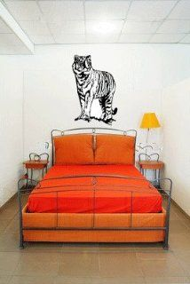Tiger Large Vinyl Wall Decal Graphic Sticker By LKS Trading Post   Wall Decor Stickers