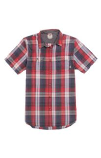 Mens Vans Shirts   Vans Averill Short Sleeve Woven Shirt