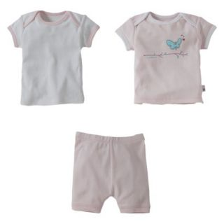 Burts Bees Baby Infant Toddler Girls 3 Piece S