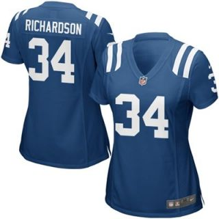 Nike Trent Richardson Indianapolis Colts Ladies Game Jersey   Royal Blue