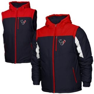 Houston Texans Youth Heavyweight Full Zip Jacket   Navy Blue