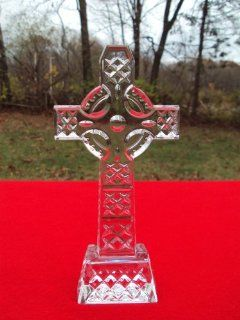 "Shop Waterford Crystal CELTIC CROSS Figurine 8"" Tall, Presented in a Lovely Gift Box as Shown, ""ON CLEARANCE SALE"" at the  Home D�cor Store. Find the latest styles with the lowest prices from"