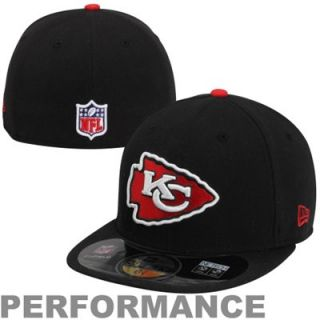 New Era Kansas City Chiefs 2013 On Field 59FIFTY Fitted Performance Hat   Black