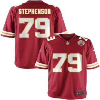 Nike Youth Kansas City Chiefs Donald Stephenson Team Color Game Jersey