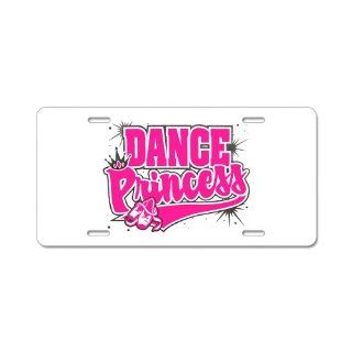 Aluminum License Plate Dance Princess