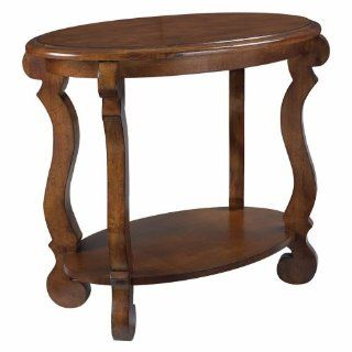 Siena Oval End Table in Tuscany Finish