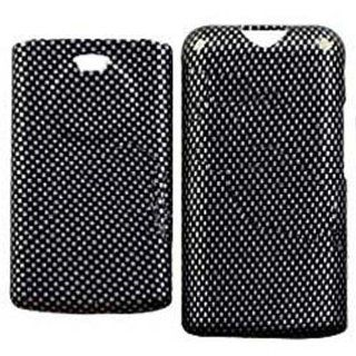 Hard Plastic Snap on Cover Fits Kyocera K132 Marbl Carbon Fiber US Cellular, Virgin, Cricket, etc Cell Phones & Accessories