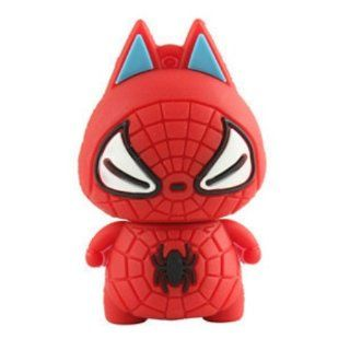 Cute Spider man USB 2.0 Enough Memory Stick Flash Pen Drive 8gb Electronics