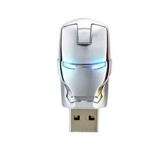 The Unique Iron Man Model Usb 2.0 Enough Memory Stick Flash Pen Drive 4g P51