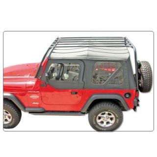 2007 2011 Jeep Wrangler (JK) Roof Rack   Olympic 4X4 Products, Direct fit, 38 x 70 in., Black