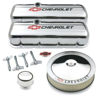 1999 2010 Chevrolet Silverado 1500 Engine Dress Up Kit   Street & Performance, Direct fit, Polished