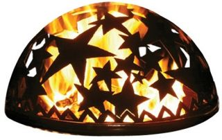 Good Directions 20 in. Starry Night Fire Dome   Fire Pit Accessories
