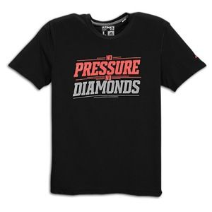 adidas No Pressure No Diamonds Ultimate T Shirt   Mens   Training   Clothing   Black/Red/White