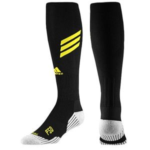 adidas F50 Soccer Socks   Mens   Soccer   Accessories   Black/Vivid Yellow